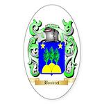 Bouvret Sticker (Oval 50 pk)