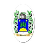 Bouvret 20x12 Oval Wall Decal