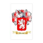 Bouvot Sticker (Rectangle)