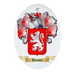 Bouvon Ornament (Oval)
