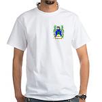 Bouvier White T-Shirt