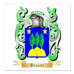 Bouvier Square Car Magnet 3