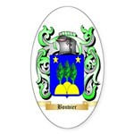 Bouvier Sticker (Oval)