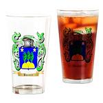 Bouvier Drinking Glass