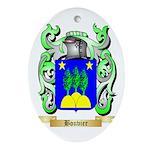Bouvier Ornament (Oval)