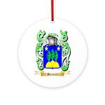 Bouvier Ornament (Round)