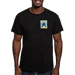 Bouveret Men's Fitted T-Shirt (dark)
