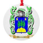 Bouveret Round Ornament