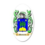 Bouveret 35x21 Oval Wall Decal