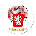 Bouvelet Round Car Magnet