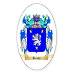 Bouts Sticker (Oval 50 pk)