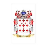 Boutflower Sticker (Rectangle 50 pk)