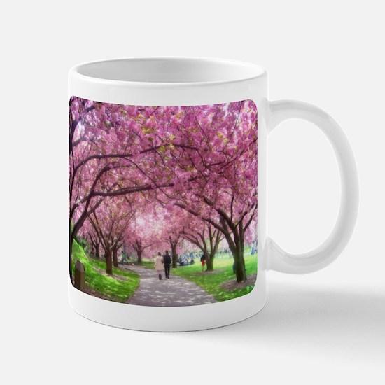 Cherry Blossom Stroll Mug