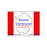 Reasoned Libertarian Revoluti Mini Poster Print