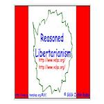 Reasoned Libertarian Revoluti Small Poster