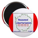 Reasoned Libertarian Revoluti Magnet