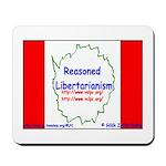 Reasoned Libertarian Revoluti Mousepad