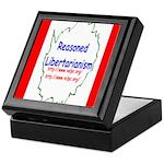 Reasoned Libertarian Revoluti Keepsake Box