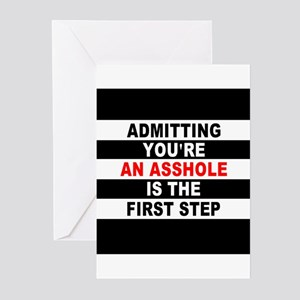 AA The First Step is... Greeting Cards (Pk of 10)