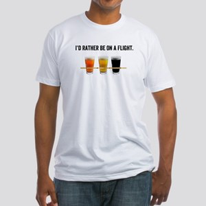 Id rather be on a flight. T-Shirt