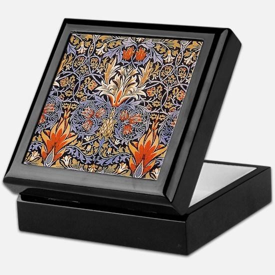 Morris Snakeshead Design Keepsake Box