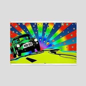 Pop Art MGA Rectangle Magnet