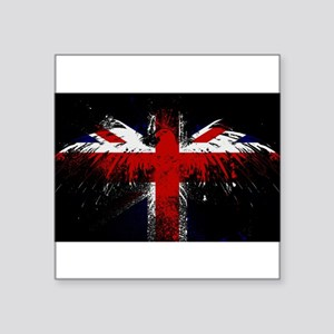 Union Jack Eagle Sticker