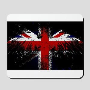Union Jack Eagle Mousepad