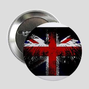 """Union Jack Eagle 2.25"""" Button"""