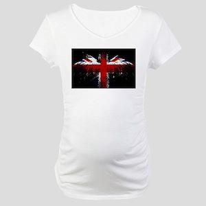 Union Jack Eagle Maternity T-Shirt