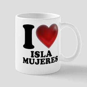 I Heart Isla Mujeres Mug