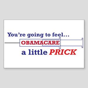 Obamacare Prick Sticker