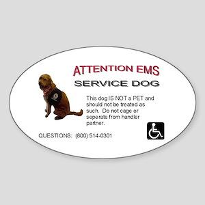 Sticker: EMS Notice Sticker
