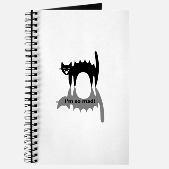 """Angry Cat """"I'm so mad!"""" Journal"""