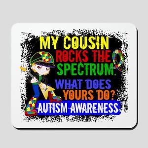 Rocks Spectrum Autism Mousepad