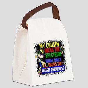 Rocks Spectrum Autism Canvas Lunch Bag