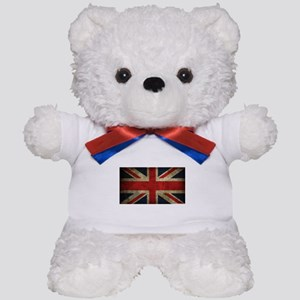 Vintage Union Jack Teddy Bear