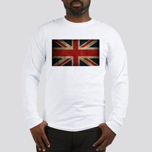 Vintage Union Jack Long Sleeve T-Shirt