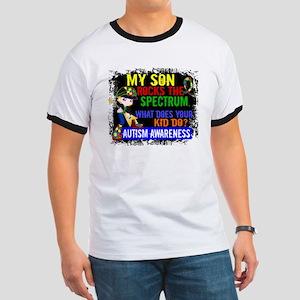 Rocks Spectrum Autism Ringer T