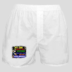Rocks Spectrum Autism Boxer Shorts