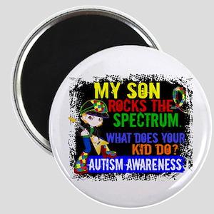 Rocks Spectrum Autism Magnet