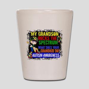 Rocks Spectrum Autism Shot Glass