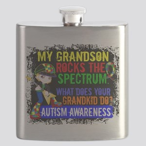 Rocks Spectrum Autism Flask