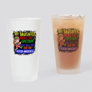Rocks Spectrum Autism Drinking Glass