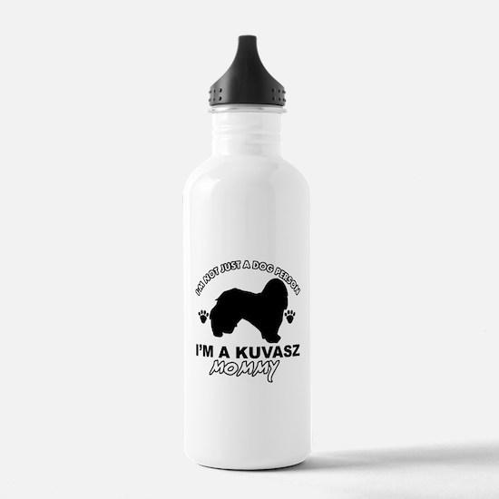 Kuvasz dog breed design Water Bottle