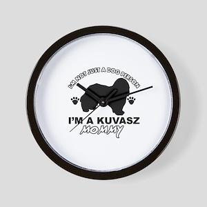 Kuvasz dog breed design Wall Clock