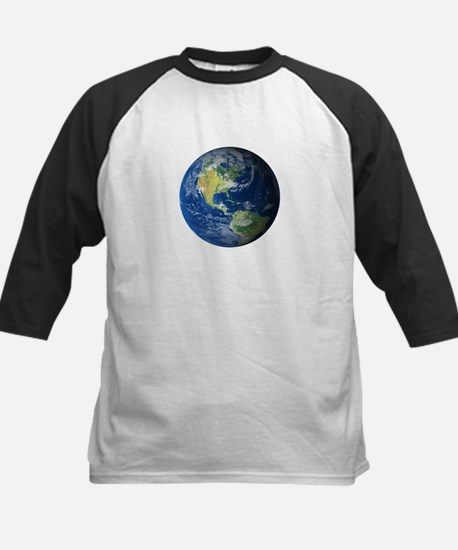 Planet Earth Baseball Jersey