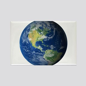 Planet Earth Rectangle Magnet
