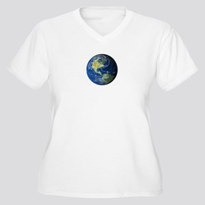 Planet Earth Plus Size T-Shirt