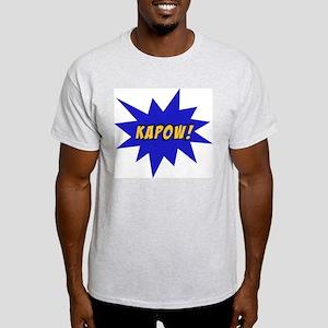 Kapow Ash Grey T-Shirt